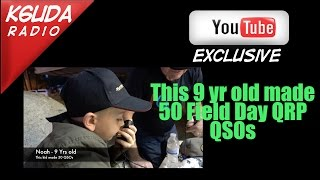 did a 9 year old beat you on field day k6uda radio ep 18
