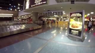 A walk trough McCarran airport terminal 1 in Las Vegas.