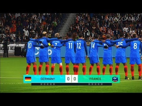 PES 2018 | GERMANY vs FRANCE | Penalty Shootout | Gameplay PC