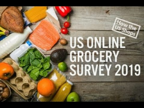 US Online Grocery Survey 2019   Coresight Research
