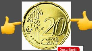 Que valor tiene 20 centecimos de euro?