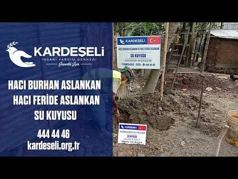 Hacı Burhan Aslankan - Hacı Feride Aslankan Su Kuyumuz