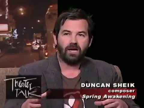 'Curtains' &  Duncan Sheik
