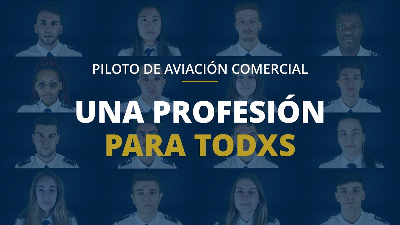 Piloto de avión comercial, una profesión para todxs | CESDA