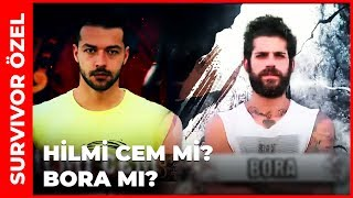 Hilmi Cem vs Bora  Survivor 2019 - Survivor All Star