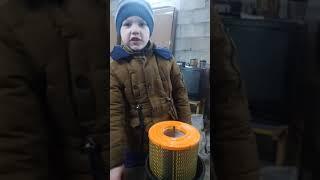 Замена воздушного фильтра газель