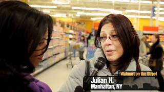 Shoppers at Walmart in Secaucus Talk About Bringing Walmart to New York City
