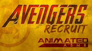 avengers recruit animated asmr role play
