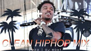 HIP HOP 2020 Mix | RAP 2020 Mix | CLEAN HIPHOP  | CLEAN HIP HOP 2020 | CLEAN RAP 2020 (DJ BOAT)