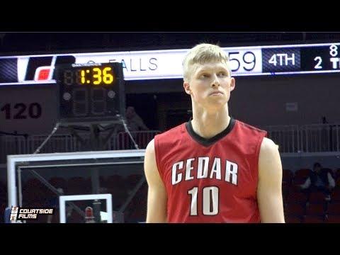 Cedar Falls Guard Logan Wolf Junior Season Highlights!