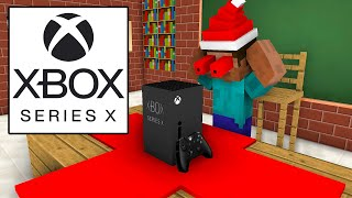 Monster School : UNBOXING XBOX SERIES X AND PS5 CHRISTMAS PRESENT - Minecraft Animation
