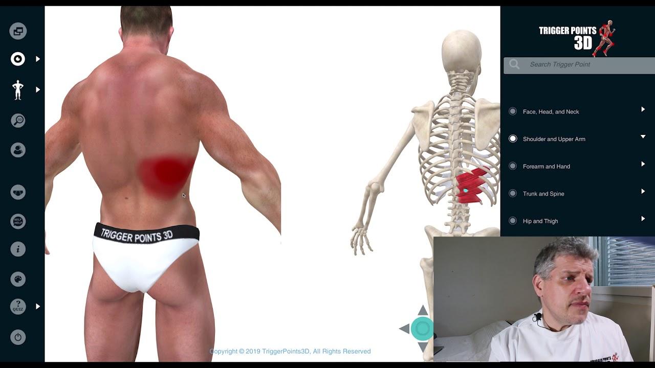 Serratus Posterior Schmerzen