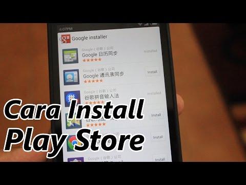 Cara Install Google Play Store Di MIUI