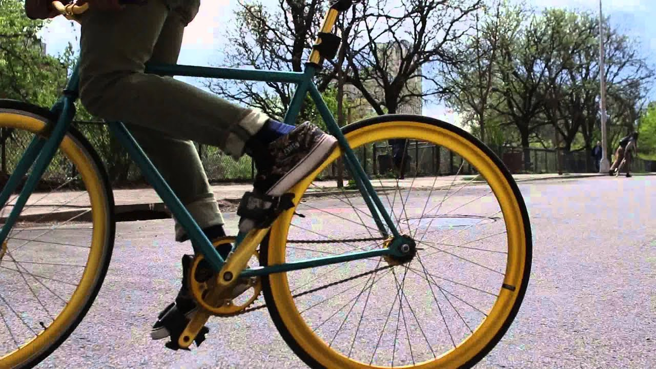 Day In The Life Of A Fixie Bike Rider