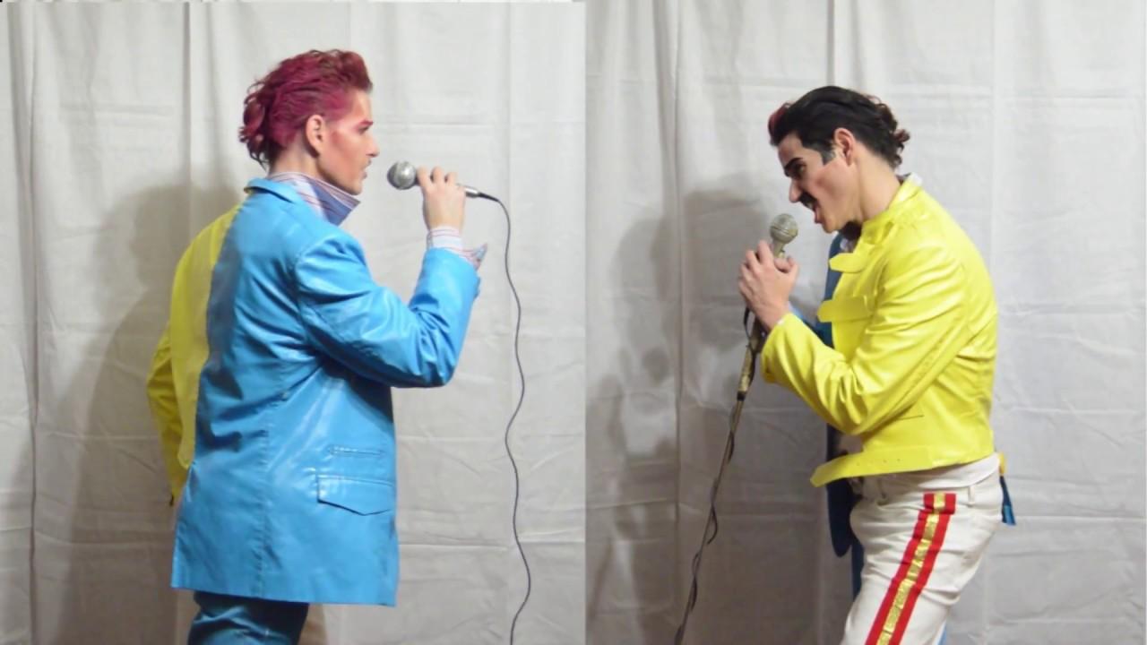 King Hugh Johnson // David Bowie Freddie Mercury Duet // Under Pressure