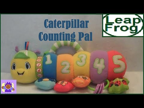 LeapFrog Baby Counting Pal Musical Caterpillar Plush Crib Toy