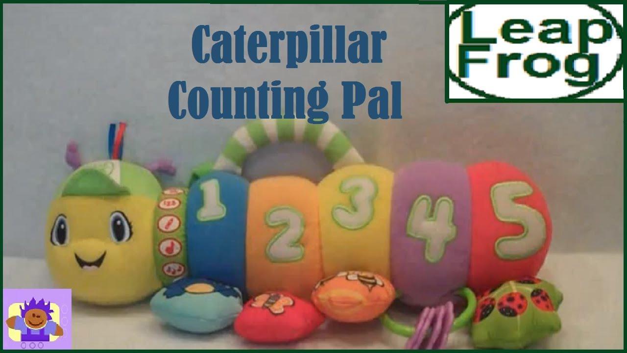Leapfrog Baby Counting Pal Musical Caterpillar Plush Crib