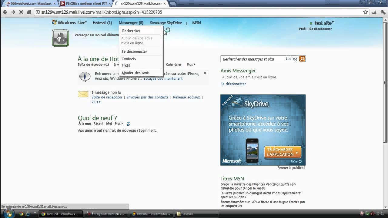 e8b59cd70c0 Créer Un Site Web et Le Mettre En Ligne GRATUITEMENT et FACILEMENT ! Tuto  FR - YouTube
