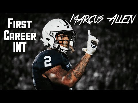HIGHLIGHT: Marcus Allen Gets His First Career Interception || Penn State Safety #2 || 09/16/17