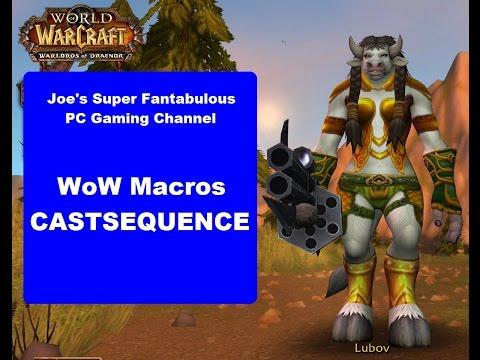 WoW: Castsequence Macro 7.0.3