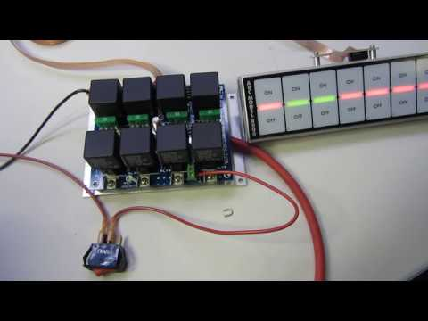 Turning Off Switch Panel Arc Model And