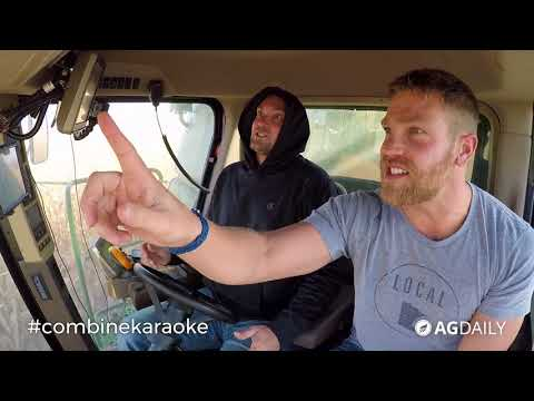 Combine Karaoke: MN Millennial Farmer turns up the loud during harvest