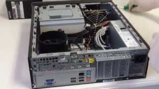 HP Slimline S5 Series System Replace Power Supply Installation Guide!