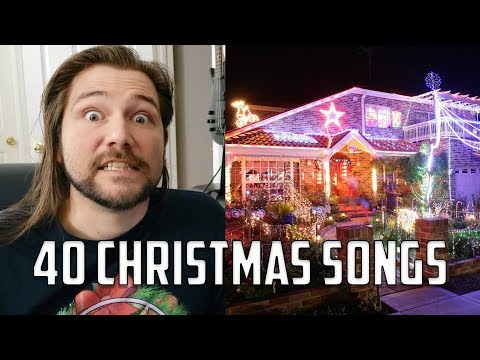 Describing 40 Christmas Songs in 1 Sentence or Less | Mike The Music Snob Reacts
