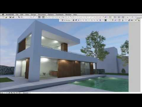 Enhanced And New Lamp Objects In Archicad 18 Youtube