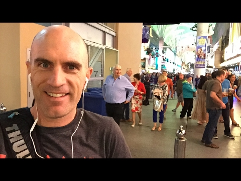 Lama Live: Fremont St Walk. (Not bikes, just Sin City)