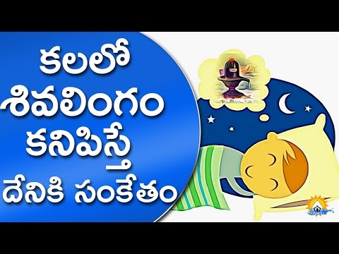 కలలో శివలింగం కనిపిస్తే దేనికి సంకేతం | Meaning of Seeing Shiva Lingam In Dream || Gopuram