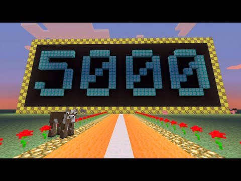 Stampylongnose - Road To 5000 Subscribers