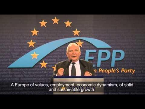 Joseph Daul addressing YEPP Council of Presidents