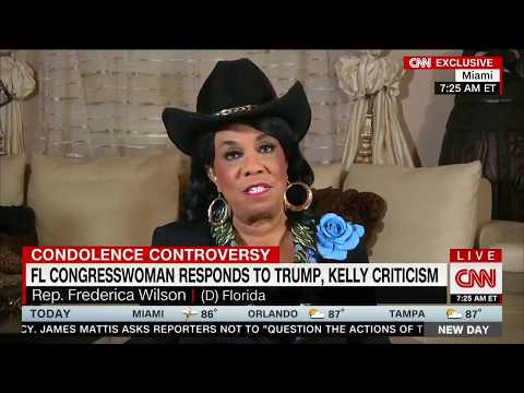 Frederica Wilson mad at question about misinterpreting Trump: 'This is not a question to ask me'