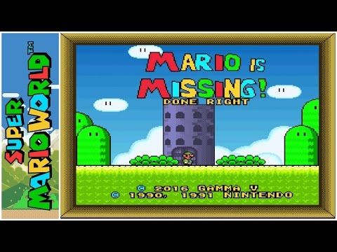 Mario is Missing! (Done Right)