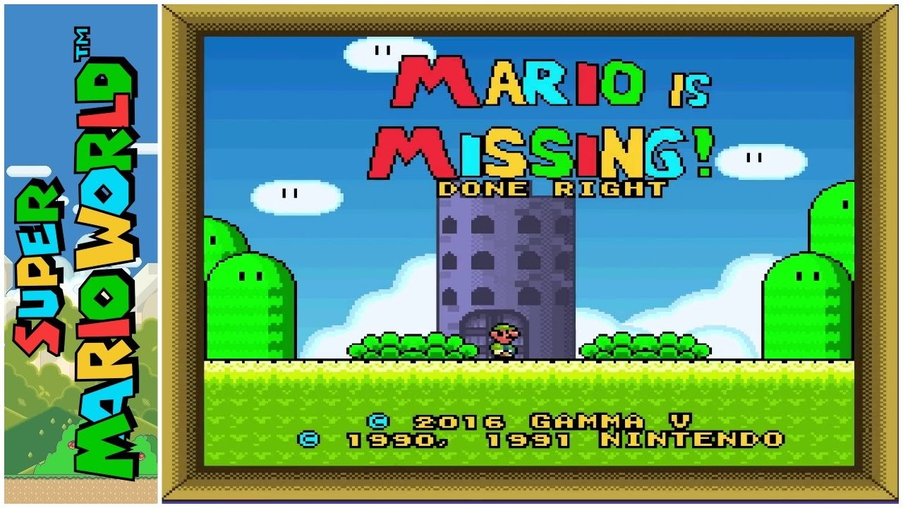 Mario is missing peachs untold tale youtube