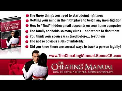 What are the signs of a cheating man