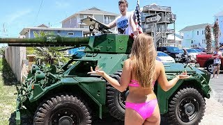 Download I Ubered Random People In A Tank Mp3 and Videos
