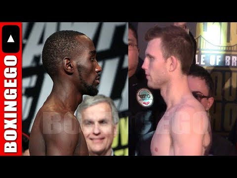 TERENCE CRAWFORD VS JEFF HORN IN FEB OR MARCH; BUD CRAWFORD ALREADY RANKED #1 MANDATORY AT WELTER