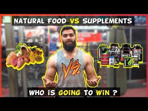 Natural food vs Supplements | Beardyfitness