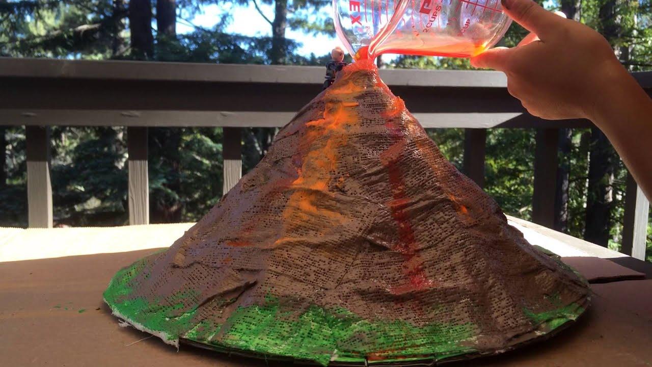 Smithsonian Giant Volcano Kit - YouTube
