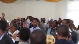 Danjire Tarsan oo la la kulmay jaaliyadda Kenya. Khudbo qiiro leh iyo balan qaadyo DAAWO.