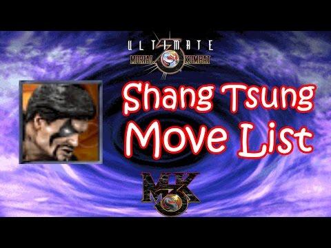 UMK3 / MK3 - Shang Tsung Move List