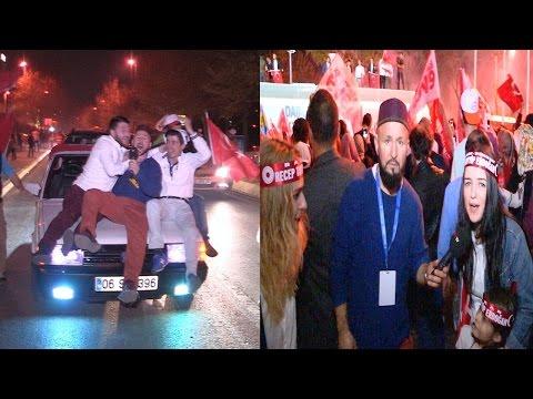 İstanbul'da Referandum Kutlaması
