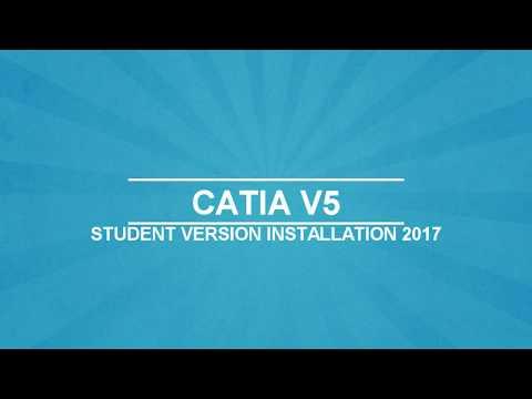 Catia V5 Installation (Student Edition) 2017