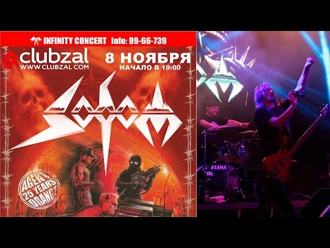 Sodom - Agent Orange 25 years tour. Live at Saint-Petrsburg (Full Concert) HD (2014)