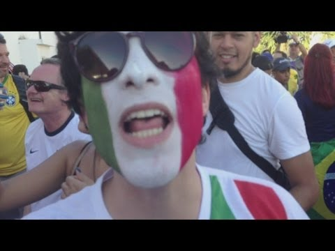 World Cup 2014: among the fans in Manaus