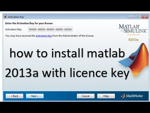 How to install Matlab 2013a with licence key || URDU/Hindi