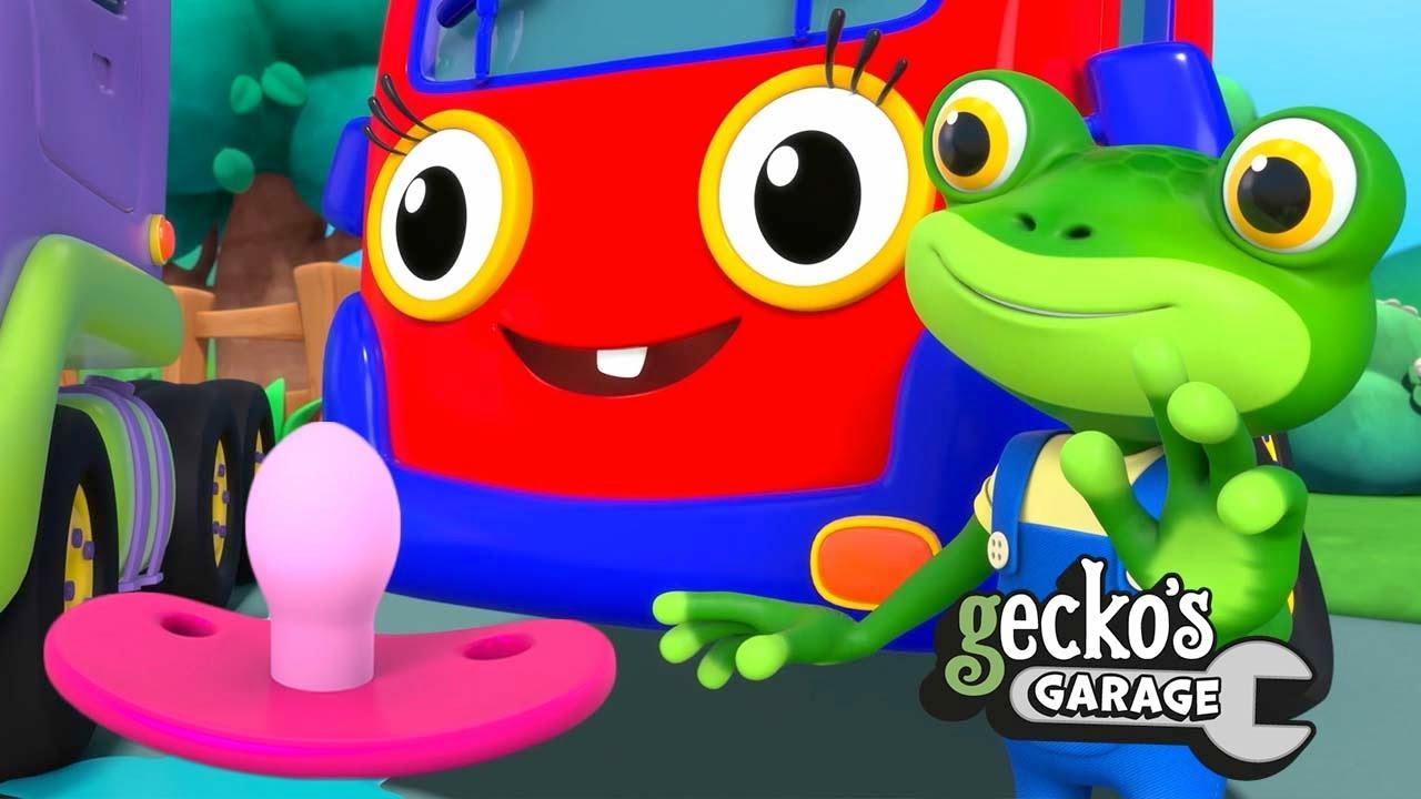 Baby Truck Loses Her Dummy | Gecko's Garage | Trucks For Children | Cartoons For Kids | Compilation