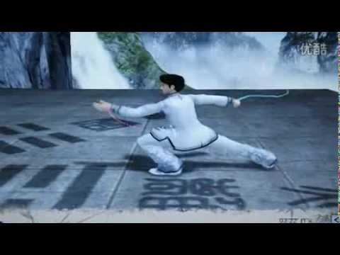 24式太極拳(3D演示 )